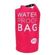 Geen Roze waterdichte tas 30 liter
