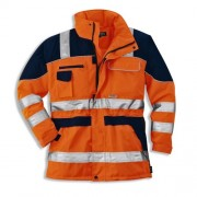 Geaca uvex reflectorizanta portocalie - 98615