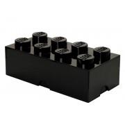 Cutie Depozitare LEGO 2x4 Negru (40041733)
