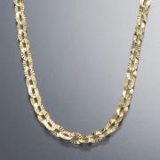 18K オーバル ダイヤモンドカット デザイン ネックレス【QVC】40代・50代レディースファッション