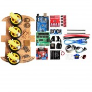 Arduino Kit Rastreo De Evitación Motor Smart Robot Car Chasis Kit