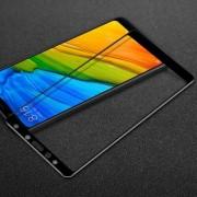 IMAK Pro+ előlap védő karcálló edzett üveg - FEKETE - 9H, Arc Edge - Xiaomi Redmi 5 - A TELJES KIJELZŐT VÉDI! - GYÁRI