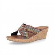 SKECHERS Sandalo Beverlee multicolore zeppa 7cm