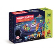 MAGFORMERS Mastermind (115 Piece) Building Set, Rainbow