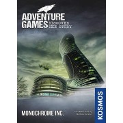 Adventure Games: Monochrome, Inc. - A Kosmos Game from Thames & Kosmos | Collaborative, Replayable Storytelling Gaming Experience for 1 to 4 Players A