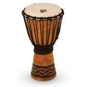 Toca TODJ-8CK Origins Series Wood Rope Tuned Wood 8-Inch Djembe - Celtic Knot Finish