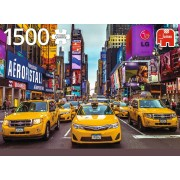 Puzzle Jumbo - New York Taxi, 1500 piese (18527)