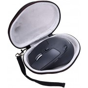 LTGEM EVA Hard Case for Logitech M720 Triathalon Multi-Device Wireless Mouse - Travel Protective Carrying Storage Bag