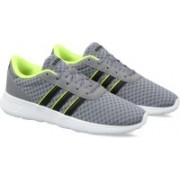 Adidas LITE RACER Running Shoes For Men(Grey)