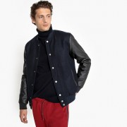 LA REDOUTE COLLECTIONS Bomberjacke, Materialmix mit Wolle
