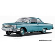 Maisto - Chevy Bel Air Hard Top (1962, 1/18 scale diecast model car, Turquoise) 31641 diecast motorcycles and cars