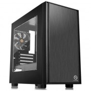 Carcasa Thermaltake Versa H17 Window Micro Tower, fara sursa, mATX, Black