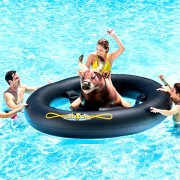 Chair Pool Floats Water Seat Bull Challenge Air Arena Inflatable Giant Riding Beach Lake Pools Watersports Summer Games Fun - Skroutz