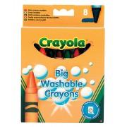 Crayola lemosható viaszkréta - 8 db
