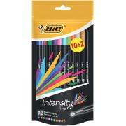 Bic fineliner Intensity 10+2 GRATIS