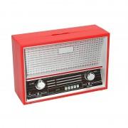 Geen Rode radio spaarpot 18 cm - Action products