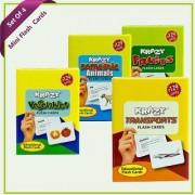 Combo Set 4 (Domestic Animals Vegetables Transports Fruits)