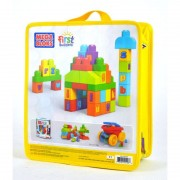 Mattel costruzioni mega brands dkx58 - first builders sacca abc