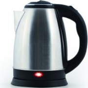 Wonder World ™ 1.7L Fast Water Kettle Premium Strix Thermostat Control Kettle LED Indicator Light Cordless Kettle, Auto Shut Off With Boil Dry Protection FDA Certified Tea Kettle, 1500W Electric Kettle(1.8 L, Silver)