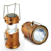 Emergency light Solar lamp LED Rechargeable Lantern with three way power