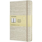 Moleskine Taccuino Blend 19 Limited Collection large a righe beige