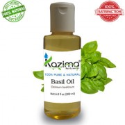 Basil Tulsi Essential Oil (200ML) Pure Natural For Skin Care & Hair Treatment