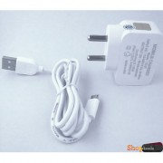 Karbonn A1 Plus Duple COMPATIBLE ACTAUAL 2.0 Ampere Superfast Charging Wall Charger + Charging Cable