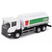 RMZ City Car 1:64 Scale Scania Castrol Tanker, White