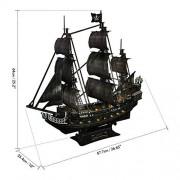 PUZZLE 3D - CBF6 - Queen Annes revenge LED
