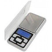 GRISHMA Digital Pocket Scale for Kitchen Jewellery Weighing, 0.1G to 200G Weighing Scale(Silver)