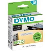 DYMO Adresetiketten 11352 25 x 54 mm Wit 500 Etiketten