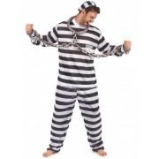 Vegaoo Gevangenis outfit voor mannen L