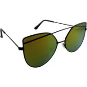 ELS Oval Sunglasses(Red, Yellow)