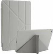 Husa flip cover activa multi pliabila pentru iPad Air 2 A1566 A1567 gri