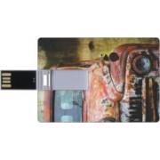 Printland Credit Card Shaped PC83021 8 GB Pen Drive(Multicolor)