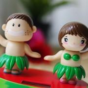 Solar Power Motion Toy Solar Powered Dancing Watermelon Doll