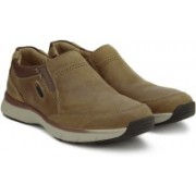 Clarks Severon Step Tan Nubuck Casuals For Men(Brown)