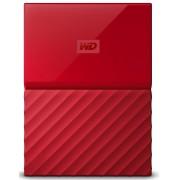 HDD Extern WD My Passport Ultra NEW, 1TB, 2.5, USB 3.0, red