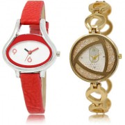 The Shopoholic White Silver Combo Latest Collection Fancy And Attractive White And Silver Dial Analog Watch For Girls Watches For Stylish Girls