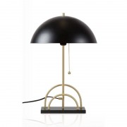 Globen Lighting Sarah Svart/Mässing Bordslampa