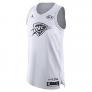 Maillot connecté Jordan NBA Russell Westbrook All-Star Edition Authentic pour Homme - Blanc