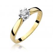 Biżuteria SAXO 14K Pierścionek z brylantem 0,25ct W-222 Złoty GRATIS WYSYŁKA DHL GRATIS ZWROT DO 365 DNI!! 100% ORYGINAŁY!!