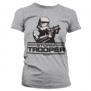 Aiming Stormtrooper Girly T-Shirt