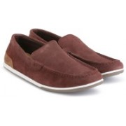 Clarks Medly Sun Burgundy Loafers For Men(Maroon)