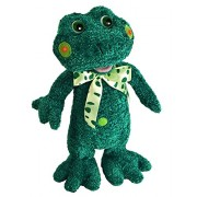 "Chantilly Lane Speckles The Frog Sings A Verse From ""Five Little Frogs"" Plush, 15"""