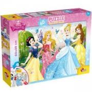 Двулицев пъзел - Disney Принцеси, 47901 Lisciani, 8008324047901