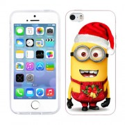 Husa iPhone 5S iPhone 5 Silicon Gel Tpu Model Craciun Minion Christmas