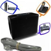 Proteraio para Fone e Net s c/ 2 Tomadas 220V PW