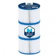 Netspa Filtration et traitement spa Cartouche de filtration Netspa nouvelle génération - lot de 3 - Netspa