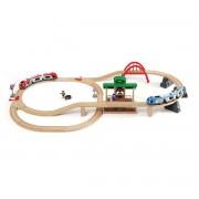 Brio Grosses Bahn-Reisezug-Set